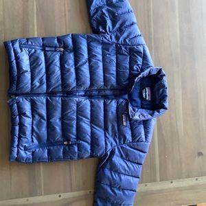 Patagonia size 5/6 down sweater jacket